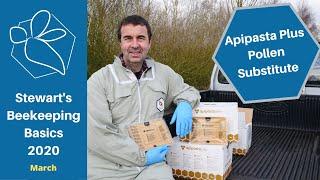 Apipasta Plus Pollen Substitute - Stewart Spinks at the Norfolk Honey Co.
