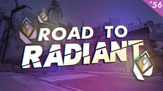 Road To Radiant   Epiṡode 56: HE RAGEQUIT!   VALORANT