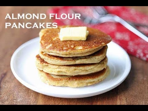 Almond Flour Pancakes, Nice and Fluffy