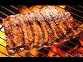 Burning Firewood & Grilling Pork Part 1 & Part 2