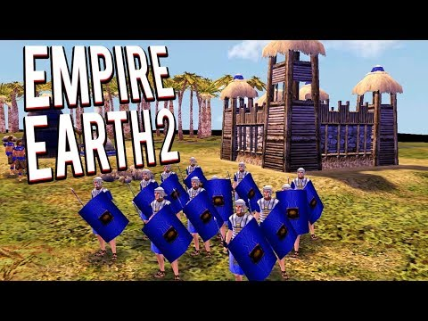ROMAN LEGIONS! HISTORICAL RTS! EMPIRE EARTH 2 MULTIPLAYER GAMEPLAY LETS PLAY