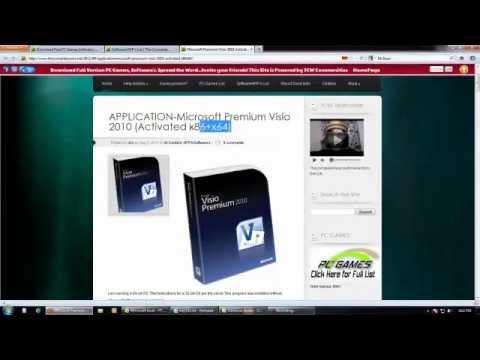 download microsoft premium visio 2010x86x64 activated full free - Download Microsoft Office Visio 2010 Free