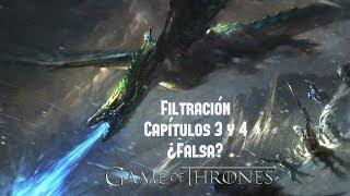Filtración de los Capítulos 3 y 4 ¿Falsa? Game Of Thrones Temp. 8