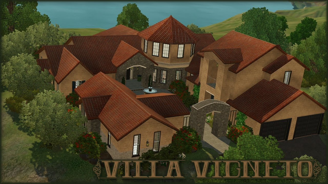 sims 3 work from home the sims 3 home building villa vigneto let s build a 1720