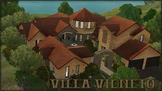 The Sims 3 Home Building - Villa Vigneto || Let