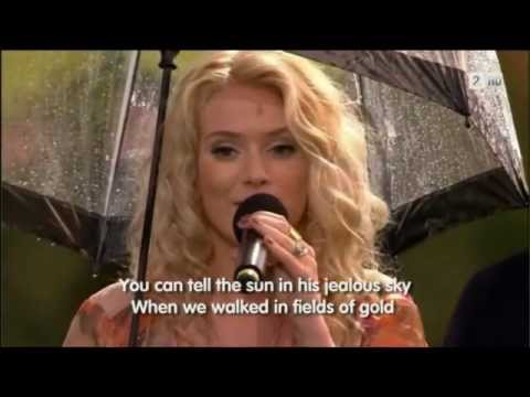 "Yohanna - ""Fields of Gold"" - Jóhanna Guðrún"