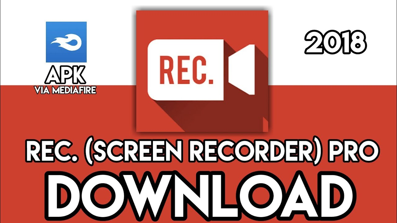 Rec  (Screen Recorder) PRO - PRO DOWNLOAD