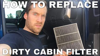 How To: Replace Cabin Filter in 2014-2018 Sierra Silverado Suburban Tahoe