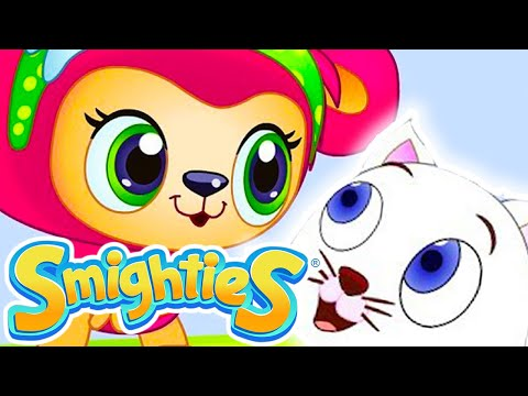 Smighties - Cute Kitten and Giant Bubble Rescue | Cartoons for Kids | Children's Animation Videos