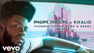 "Get imagine dragons & khalid's ""thunder/young dumb broke"" (medley), out now: http://smarturl.it/tydb shop dragons: http://smarturl.it/imaginedragon..."