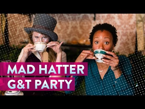 Hop on the Mad Hatter's Magical G&T Party Bus   Genius Kitchen