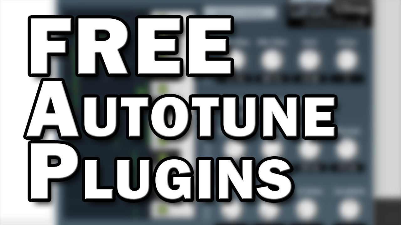 Free Autotune Plugins – Pitch Correction for Home Recording