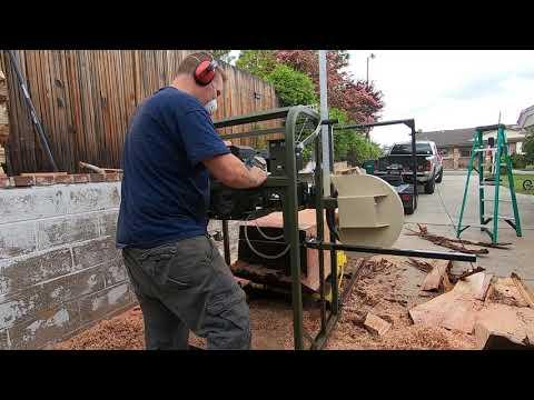 "Hudson Warrior 36"" bandsaw sawmill"
