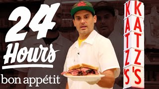Working 24 Hours Straight at New York's Most Iconic Deli | Bon Appétit