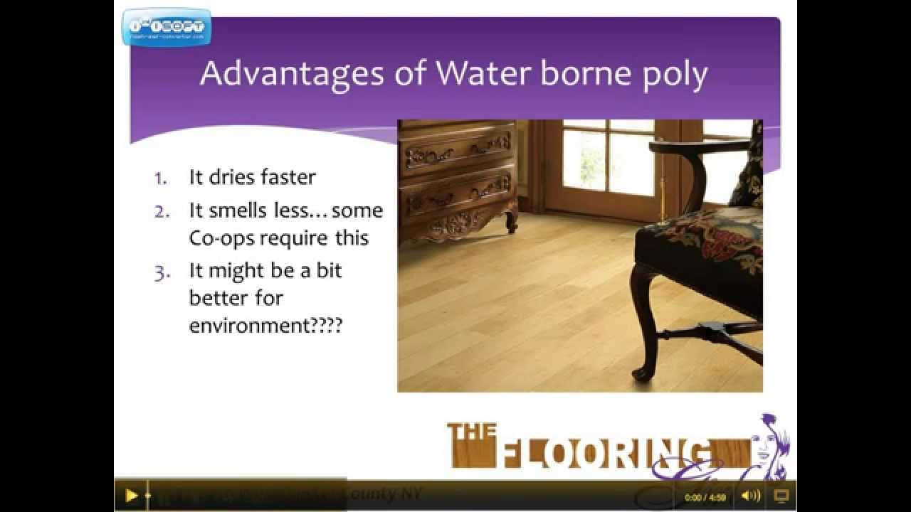 Is water based polyurethane vs oil based - Oil Vs Water Based Polyurethane Which Is Better For Refinishing Hardwood Floors Part 2