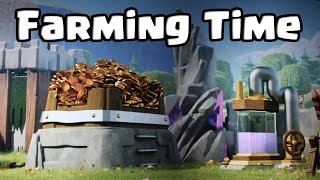 ¡¿Y QUÉ PASA ENTONCES CON CLASH OF CLANS!? | Farming Time | Clash of Clans con TheAlvaro845 | Es