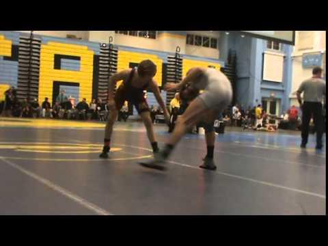 113lbs Andrew Brooks (Sanford) vs Jarek Lugo (Milford)