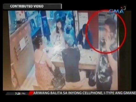 24 Oras: Bag ng customer ng isang Japanese restaurant, tinangay ng mga magnanakaw