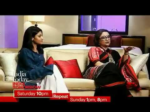 Aparna Sen And Konkona Sen In Conversation With Rajdeep | #IndiaTodayIndiaTomorrow Promo