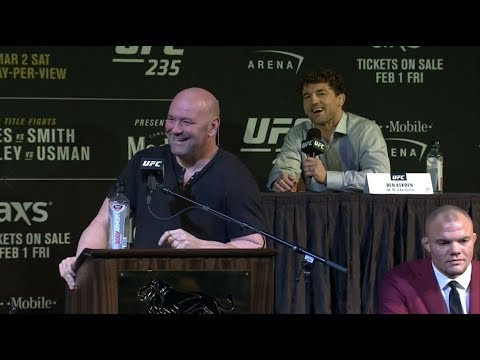 UFC 235: Press Conference Highlights