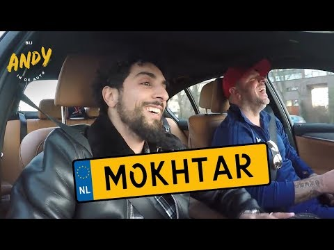 Bij Andy in de auto - Mokhtar