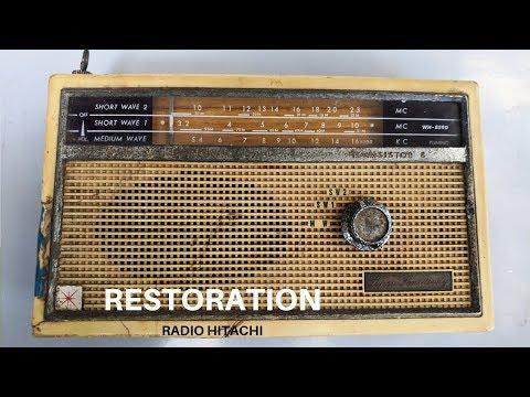 1962 Radio Hitachi Restoration
