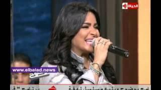 بالفيديو .. هدى تغنى ' زكى يا زكى ' مع عمرو الليثى