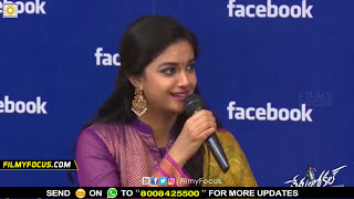 Keerthy Suresh Warning to Nani in Live Show - Filmyfocus.com