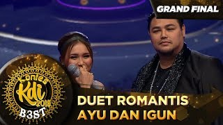 Juri Minta Igun Dan Ayu Ting Ting Duet Romantis - Grand Final KDI 2019 (18/10)