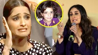 Kareena Kapoor,Sonam Kapoor REACTION On Asifa Kathua Case