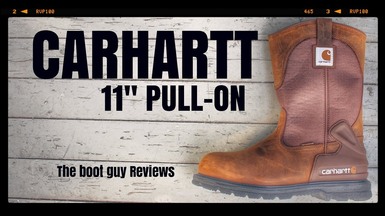 186b20027f8 CARHARTT 11-INCH STEEL TOE WELLINGTON STYLE #CMP1220 [ The Boot Guy REVIEWS  ]