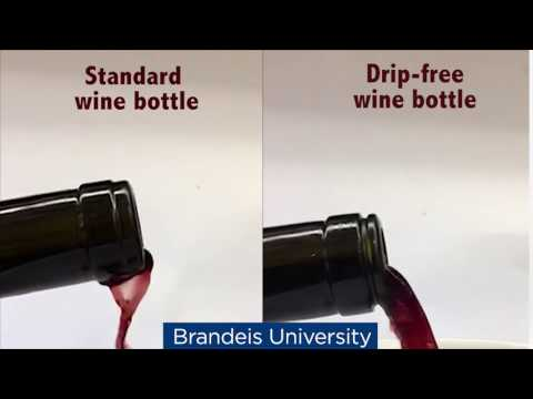 wine article A better wine bottle Brandeis University Invented by biophysicist Dan Perlman