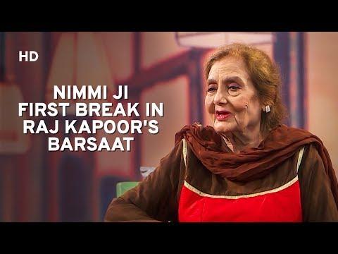 Actress Nimmi | Mehboob Khan|Raj Kapoor | Dilip Kumar | Baatein Kahi Ankahi | Bollywood Chat Show