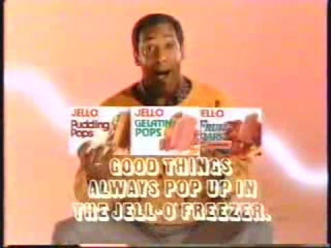 bill cosby 1986 jello o gelatin pops commercial youtube