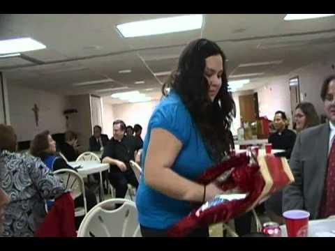 St. Agnes Choir Christmas Party 12-11-10 pt.1