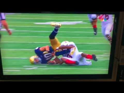 Notre Dame Fumble 9818 Ball St.