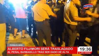 Pueblo Libre   Alberto Fujimori envía carta antes de volver a prisión