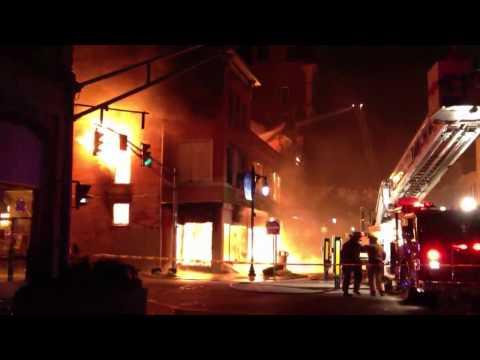 Gimbel Corner | Fire | Vincennes | Indiana