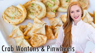 Crab Wontons And Pinwheels