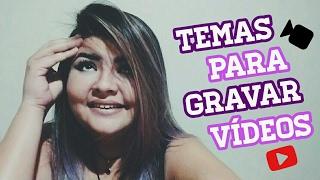 Baixar O QUE FALAR NO PRIMEIRO VÍDEO DO CANAL /TEMAS - Dicas para youtubers Iniciantes #3
