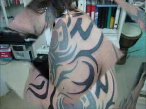 Tatuaje Tribal Pecho Hombro Espalda Estebanitox Cover Cicatriz
