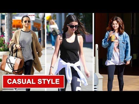 Selena Gomez's New Casual Style - 2018. http://bit.ly/2Z6ay3A