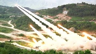 South Korea Armed Forces Show Of Force - Super Intense Live-fire Exercise