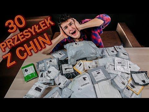 30 PRZESYŁEK Z CHIN DO 1$😱 WIELKI UNBOXING