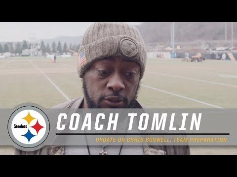 Tomlin delivers an Update on Chris Boswell | Pittsburgh Steelers