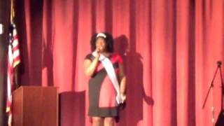 Miss New Jersey Plus USA - National Anthem