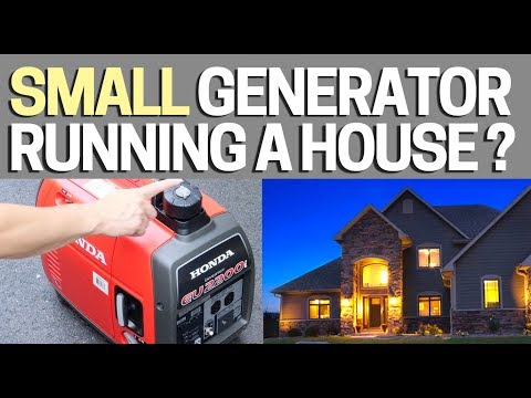 How to hook up honda generator to rv