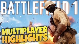 Battlefield 1 - New Multiplayer Maps! Battlefield 1 PC Multiplayer Gameplay Highlights