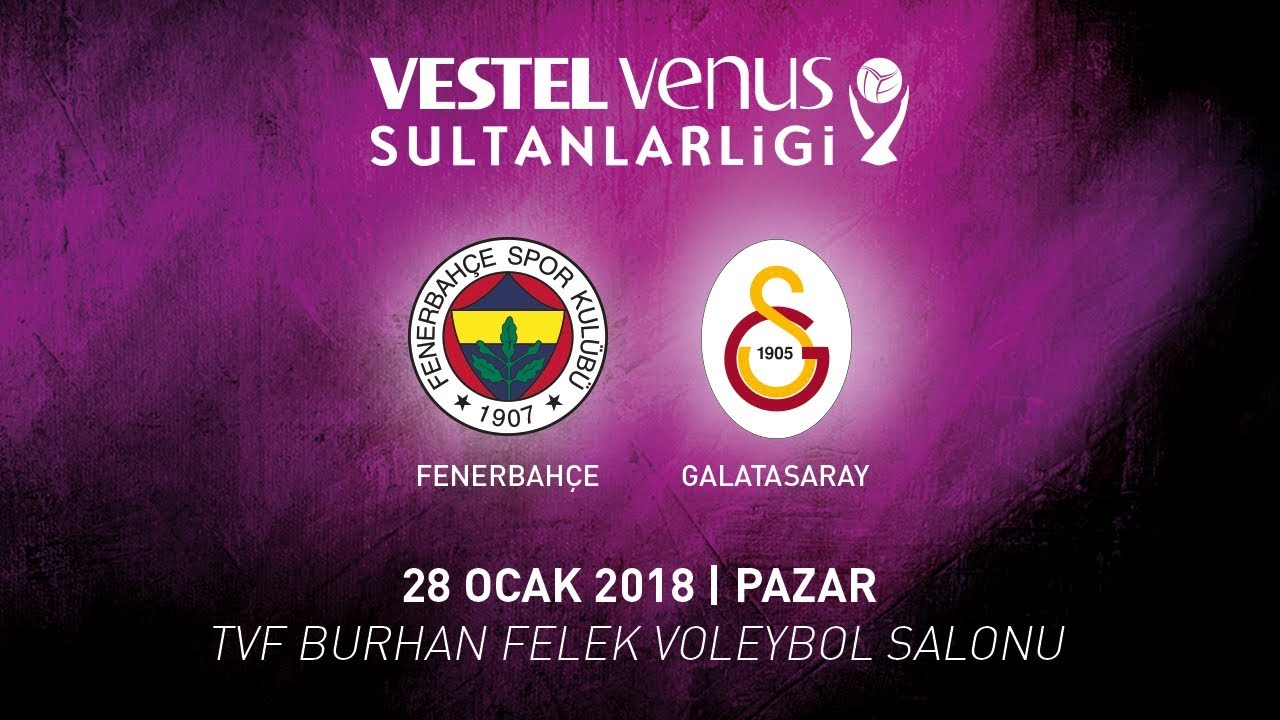 2017 - 2018 / VVSL 16. Hafta / Fenerbahçe 0 - 3 Galatasaray