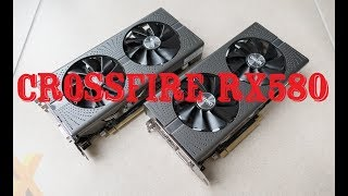 Тестирую CrossFire RX580 8GB - Far Cry 5, PUBG